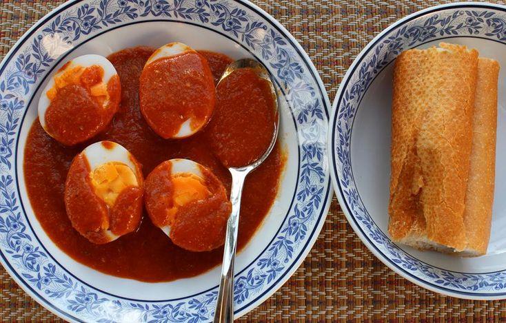 Duck Egg Sambal (Thai)