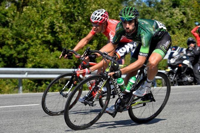 Vuelta a España 2014 - Stage 11: Pamplona - San Miguel de Aralar (Navarre) 153.4km - #LaVuelta #LaVuelta2014 #Vuelta #Vuelta2014 #VueltaEspana - Jérôme Cousin (Europcar)