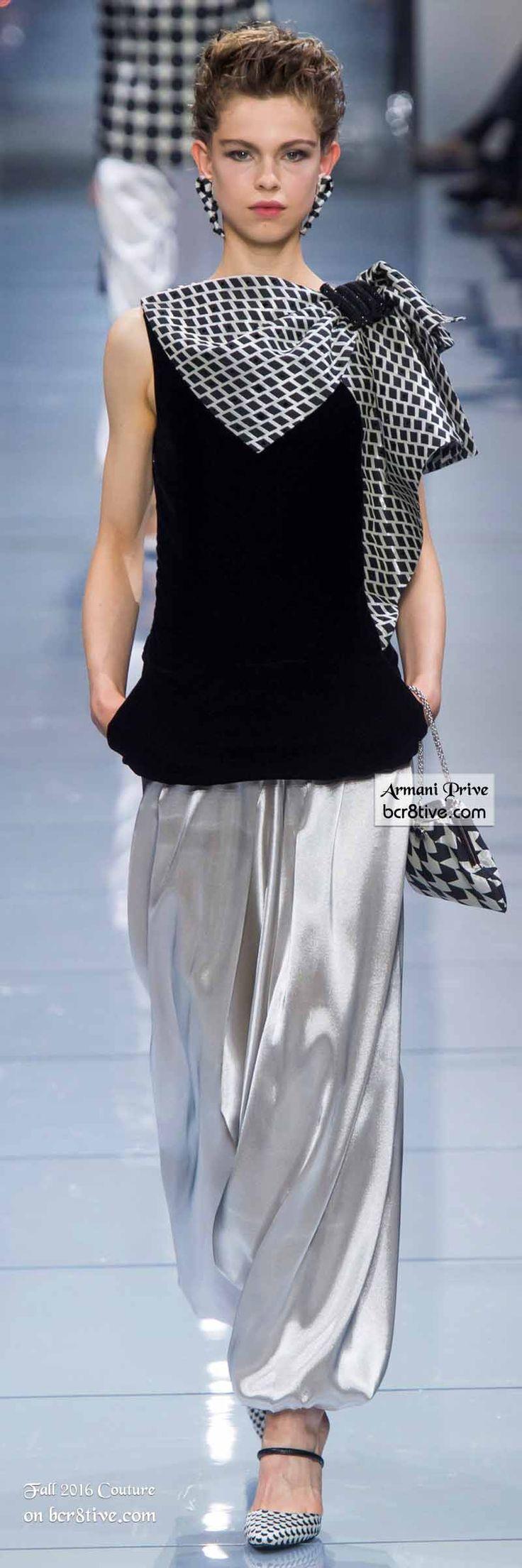 Giorgio Armani Privé - The Best Fall 2016 Haute Couture Fashion