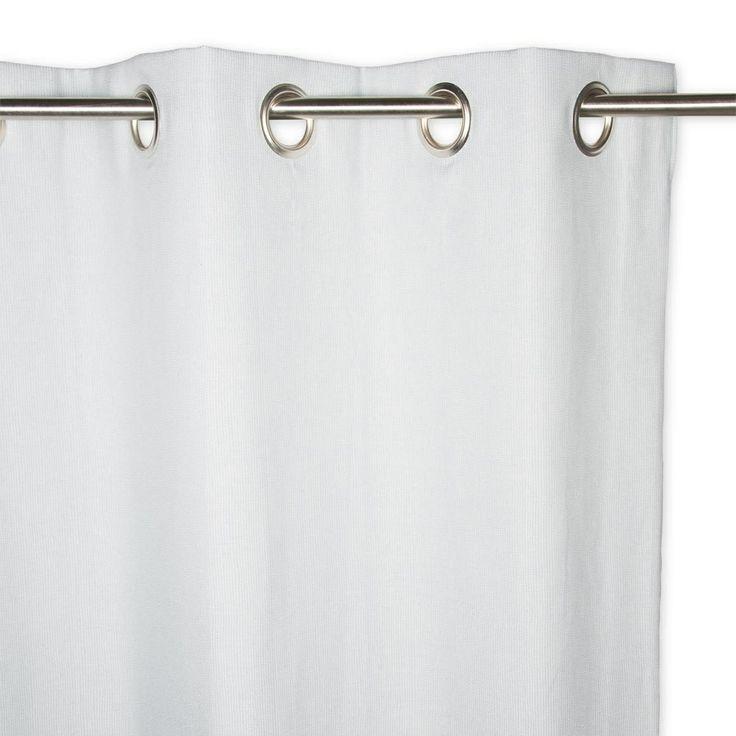 Curtain: Duckegg Eyelet, Barkweave, Lined