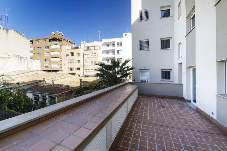 Santa Catalina, Palma de Mallorca: Nybyggd lägenhet med terrass vid Santa Catalina