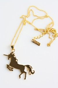 Unicorn 24k Gold plated - WIN with Caffeine And Fairydust!
