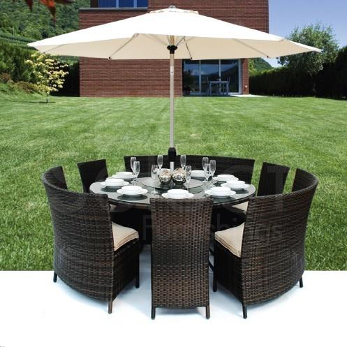 Maze Rattan 3 3 Dallas Dining Set Garden Furnitureoutdoor