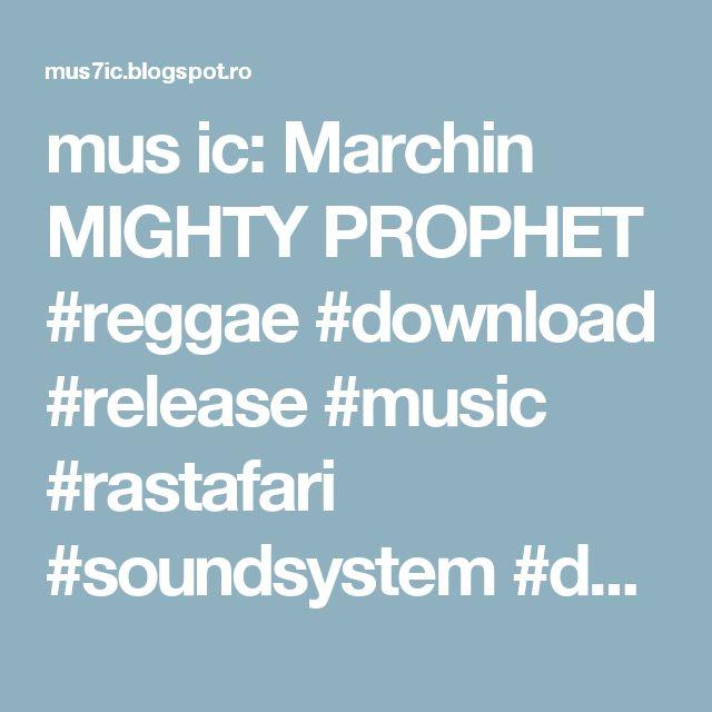mus ic: Marchin MIGHTY PROPHET #reggae #download #release #music #rastafari #soundsystem #dub #bandcamp @Bandcamp https://t.co/s9G2G9J7Yx