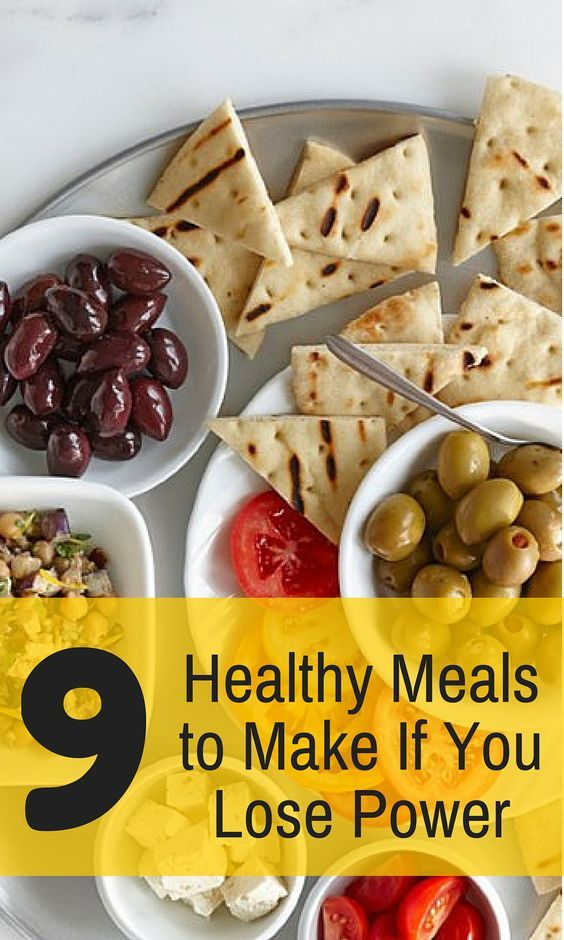 17 best no power whats for dinner images on pinterest healthy no power no problem check out 9 meals you can make if you lose forumfinder Choice Image