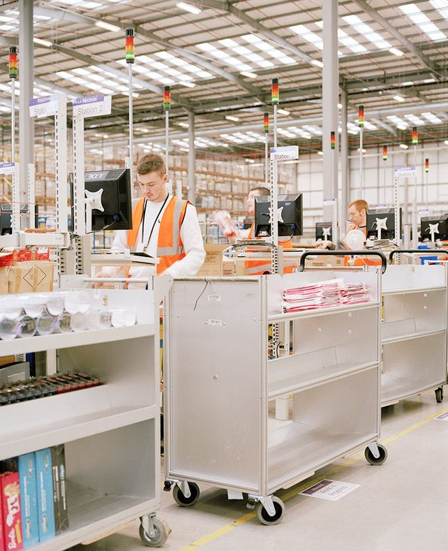 4 | Think Your Office Is Soulless? Check Out This Amazon Fulfillment Center | Co.Design: business + innovation + design
