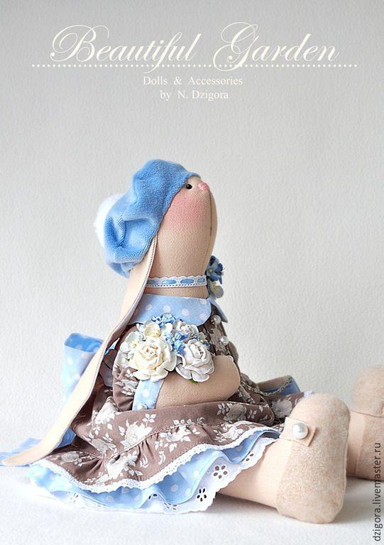 Tilda doll Bunny / Купить Зайка текстильная Эвелин - зайка, игрушка зайка, игрушка зайчик, игрушка заяц