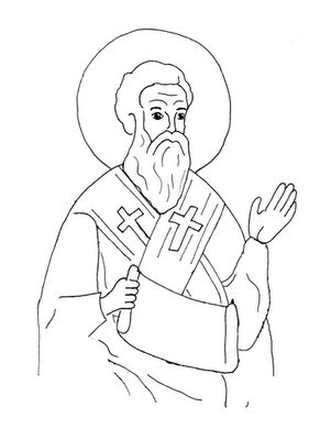 coloring pages christmas lutheran - photo#21