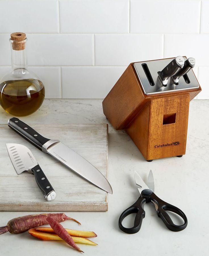 Calphalon Classic SharpIN Self-Sharpening 6-Pc. Cutlery Set