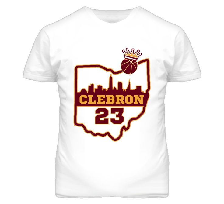 Enjoy Free & Quick Shipping on the Youth Clebron Lebron James Cleveland Cavaliers T-Shirt. You Always Get High Quality T Shirts Custom Made in the US with a 100% Satisfaction Guarantee at OneUpTshirts