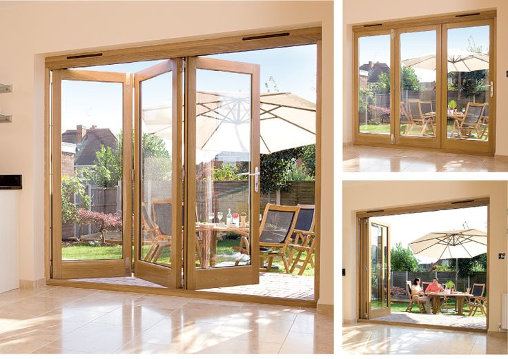 Folding Doors Solid Oak Close Window | Garden room | Pinterest ...
