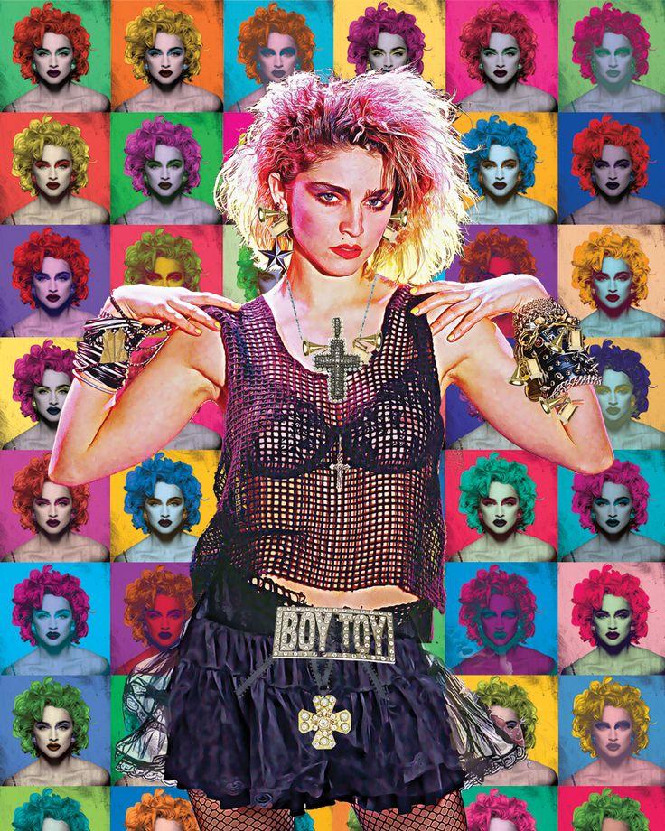 """Madonna """"Star Pop"""" #madonna #artist #artistsoninstagram #art #popart #digitalart #digitalpainting"""