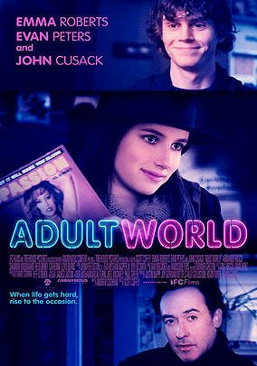 Adult World  So much love and feels for this film <3 Emma and Evan really has great chemistry no wonder they're real life couples!