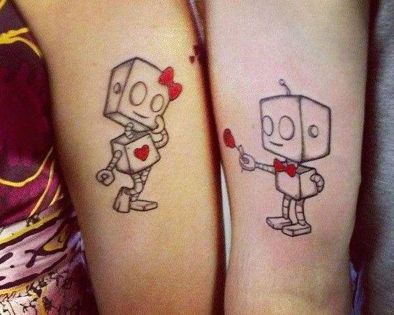 15 Increíbles tatuajes en pareja para este 14 de febrero ¡Vas a querer hacerte el #14!: