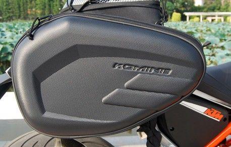 1 Пара Komine SA-212 переметные мотоцикл хвост мешок багажа сумки Отправить водонепроницаемый чехол