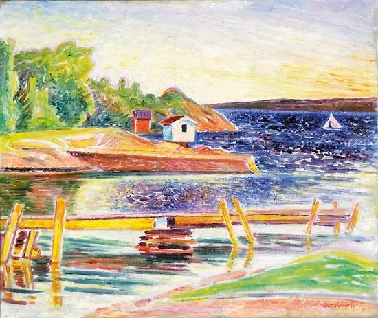 Arne Kavli (1878 – 1970): Sommerlandskap