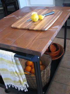 Roller Cart Diy Kitchen Upcycle