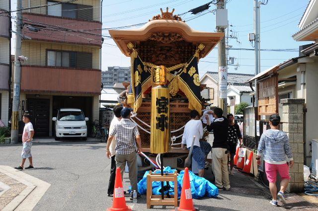 岸和田だんじり祭り 平成26年度 宮本町