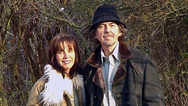 "thateventuality: "" Olivia and George Harrison, Ireland, 15 January 2000 (Photo: AP Photo) (Warning: Some of the quotes contained herein - under a ""read more"" cut - include graphic descriptions of..."