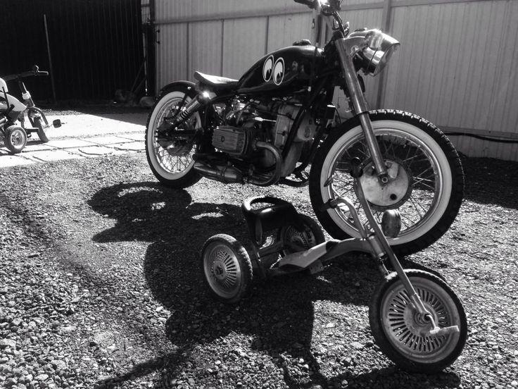 My bobber DNEPR MT10, 650cc