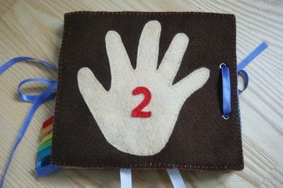 Ręka dziecka.  The hand of the child.