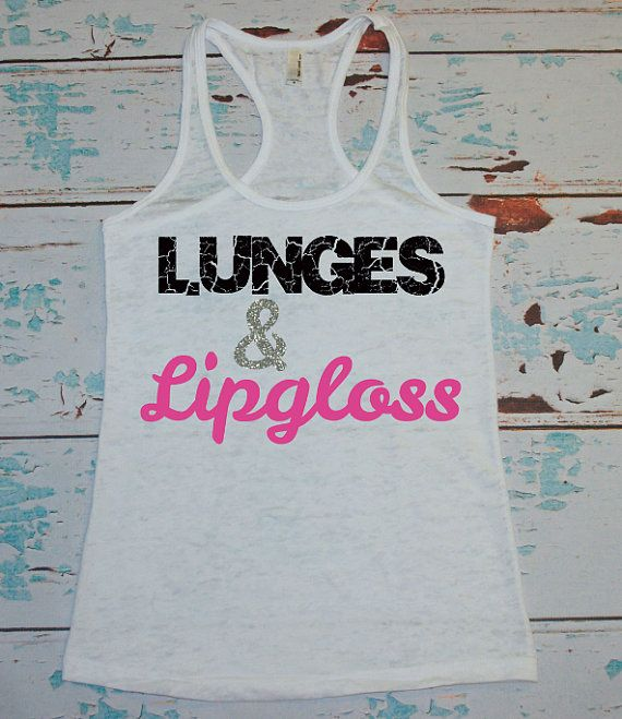 Burnout Tank. Workout Tank. Lunges and by strongconfidentYOU Size small :)