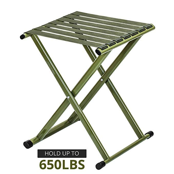 Pleasing Amazon Com Triple Tree Super Strong Portable Folding Stool Ocoug Best Dining Table And Chair Ideas Images Ocougorg