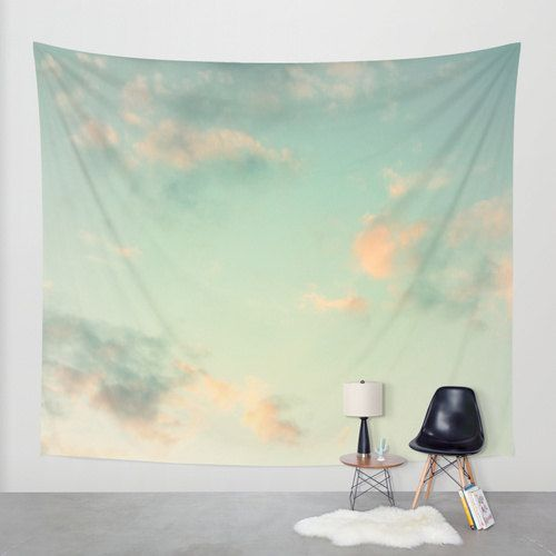 Cloud Tapestry Cloudy Sky Tapestry Clouds Large Wall by MGMart
