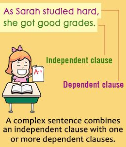Explanation of Complex Sentences with the Help of Examples
