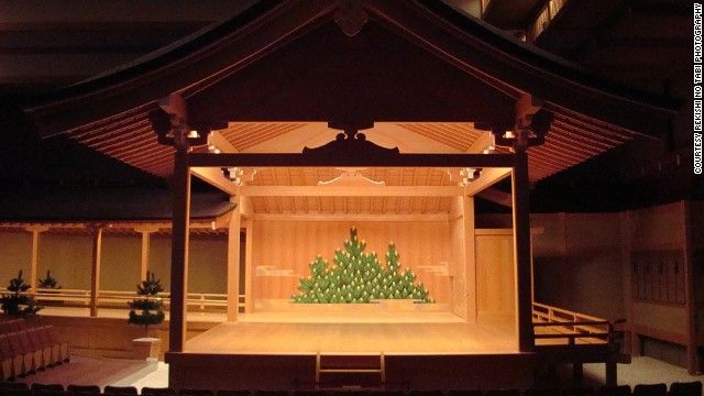 """National Noh Theatre (Tokyo) Noh, meaning """"skill"""" or """"talent,"""" is a form of traditional Japanese musical drama. Plays often last all day. Better stock up on the popcorn."""