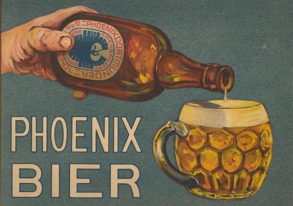 Phoenix Bier   Ontwerp Albert Fiks