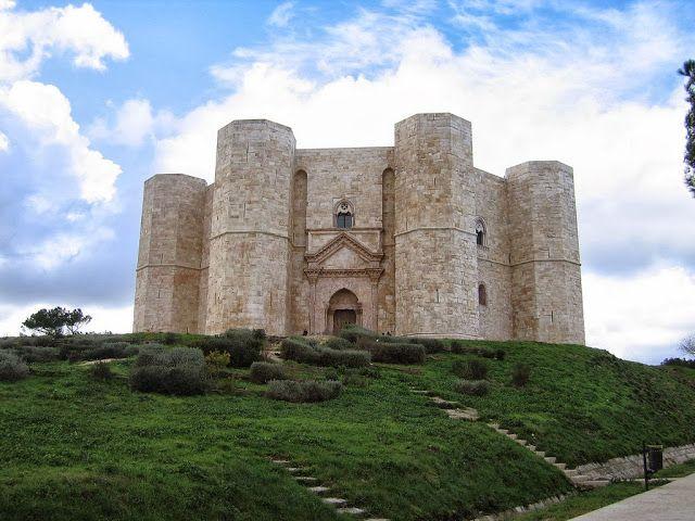 The historical castle del monte,Italy