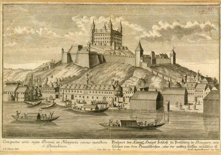 podoba hradu po palfyovskej prestavbe z roku 1663
