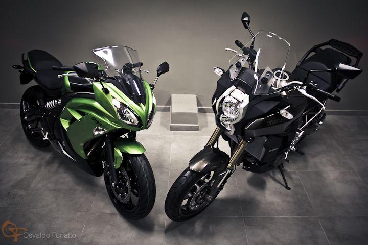 Kawasaki Ninja 650 e Kawasaki Versys 1000 #umamotopordia #osvaldofuriatto