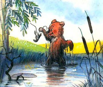 Агния Барто стихи, агния барто медвежонок-невежа, рисунки сутеева