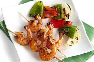 BBQ Shrimp: Bbq Shrimp, Shrimp Skewers, Seafood Recipes, Kraft Recipes, Fish Recipes, Bbq Sauces, Healthy Living Recipes, Recipes Kraftrecip, Shrimp Recipes