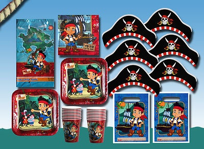 JAKE AND THE NEVER LAND PIRATES Birthday Party Set