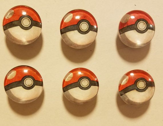 Check out this item in my Etsy shop https://www.etsy.com/listing/452513752/glass-pokeball-magnet-set-pokemongo