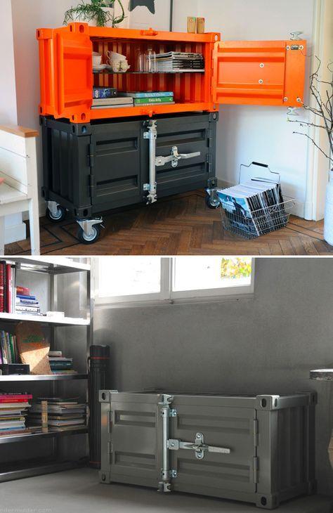 Pandora cabinet herreria muebles de metal muebles for Muebles industriales metal baratos