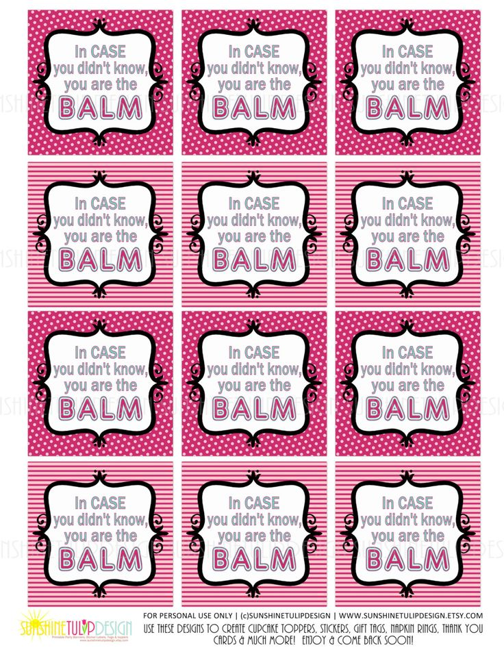 Lemon Coconut Lip Balm Printables Craftbnb - Lip balm label template