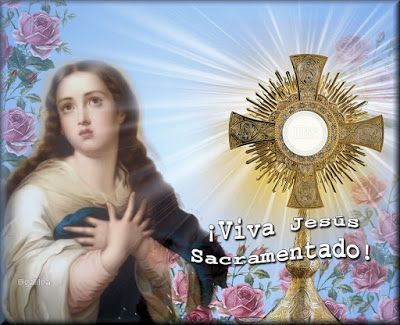 MI RINCON ESPIRITUAL: Oración a Jesús Eucaristía