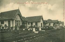 Officierswoningen te Tjikoedapateuh - Bandung