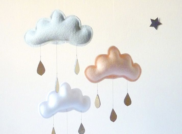 The Handmade Baby Mobile Collection by The Butter Flying