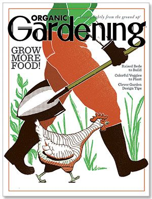 The April/May 2013 issue of Organic Gardening magazine is now on sale!