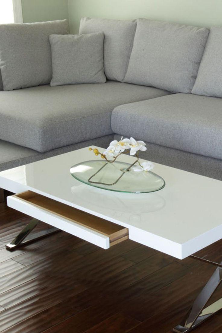 Alexa White Coffee Table on HauteLook