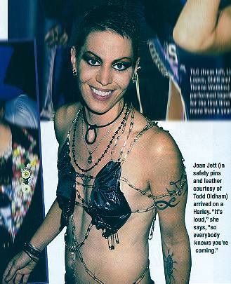 JOAN JETT TATTOO PICS PHOTOS OF HER TATTOOS