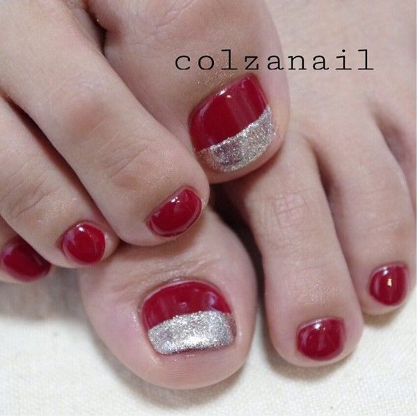Toe Nail Art Holidays: 1000+ Ideas About Christmas Toes On Pinterest
