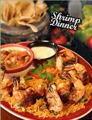 Shrimp Dinner - at Fresco's in Burleson