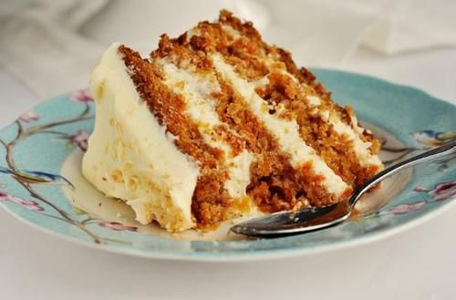 Hawaiian Carrot Cake |  It is a mouth watering dessert.  Freshly grated carrot and pineapple are baked into a moist spice cake.  Use the best spices available to bake this cake so the diverse flavors really come through. @sweetapolita