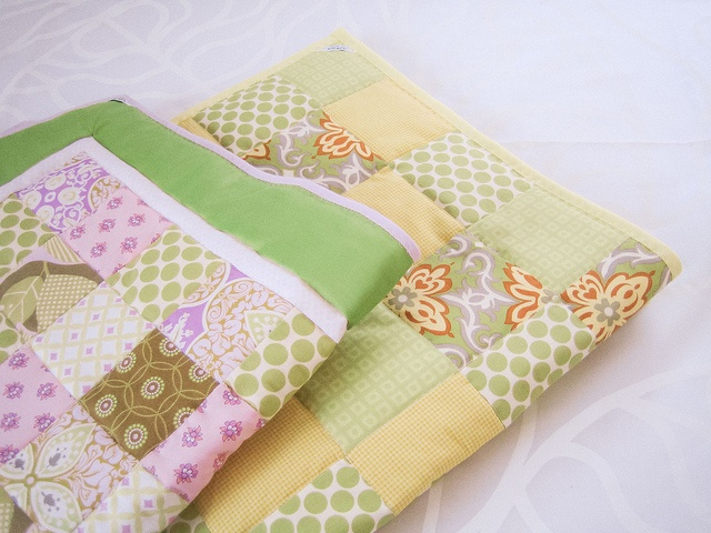 Baby quilts by Vilman, via Flickr